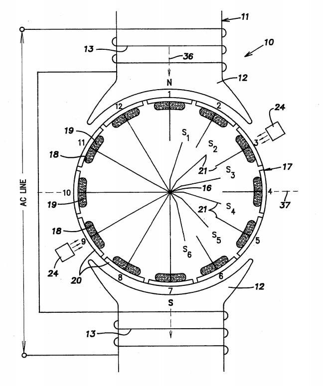 schema electrique moteur universel